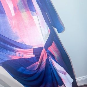 Avenue Dresses - Comfortable and Stylish Abstract Print Dress